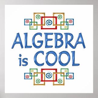 Álgebra fresca póster
