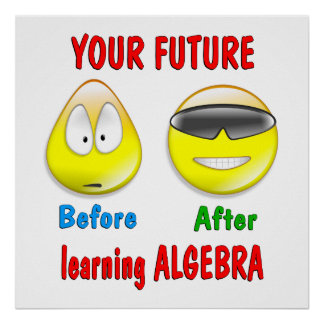 Algebra Future Poster