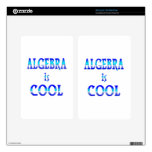 Algebra is Cool Decal For Kindle Fire