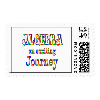 ALGEBRA is Exciting Postage Stamp