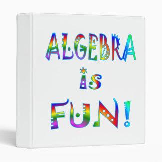 Algebra is Fun Binder