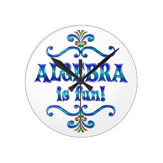 ALGEBRA is Fun Clock