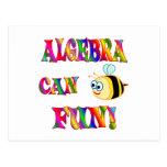 Algebra is Fun Post Card