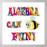 Algebra is Fun Posters