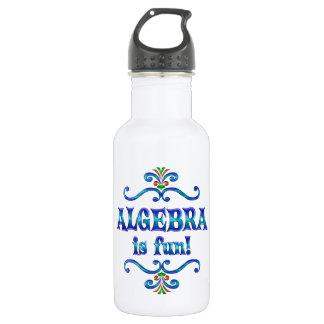 ALGEBRA is Fun Stainless Steel Water Bottle