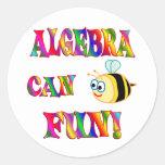 Algebra is Fun Sticker