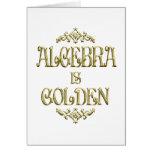 ALGEBRA is Golden Cards