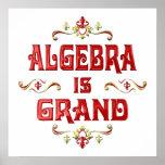 Algebra is Grand Posters