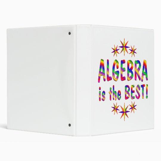 Algebra is the Best 3 Ring Binder
