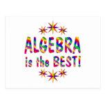 Algebra is the Best Postcard