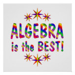 Algebra is the Best - Starting at $11.80 Posters