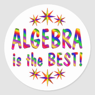 Algebra is the Best Stickers