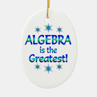 Algebra is the Greatest Christmas Ornaments
