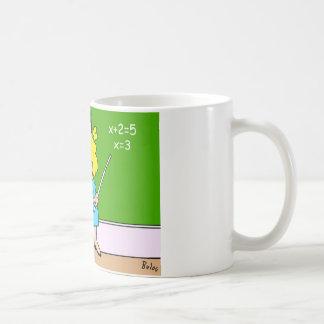 algebra kid teacher yesterday x equals two coffee mug