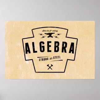 Algebra - Math Posters