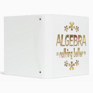 ALGEBRA Nothing Better Binder