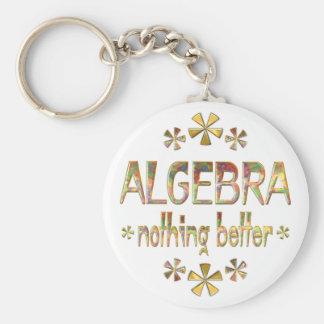 ALGEBRA Nothing Better Basic Round Button Keychain