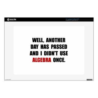 Algebra Once Laptop Decals