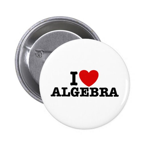Álgebra Pin Redondo De 2 Pulgadas