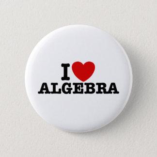 Algebra Pinback Button