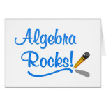 Algebra Rocks! Cards