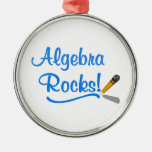 Algebra Rocks! Christmas Ornament