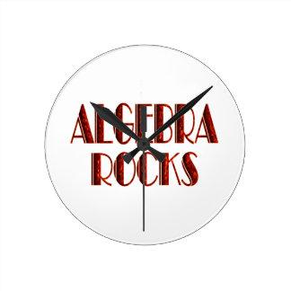 Algebra Rocks Clocks