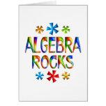 ALGEBRA ROCKS GREETING CARDS