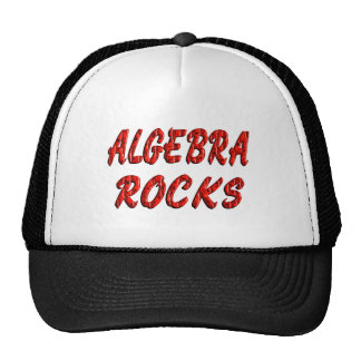 Algebra ROCKS Trucker Hat