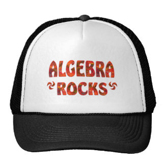 ALGEBRA ROCKS HATS