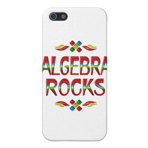 Algebra Rocks iPhone 5/5S Covers
