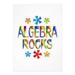 ALGEBRA ROCKS PERSONALIZED INVITES