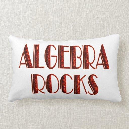 Algebra Rocks Pillows