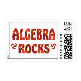 ALGEBRA ROCKS POSTAGE STAMPS