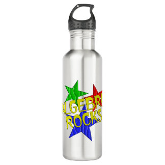 Algebra Rocks Stainless Steel Water Bottle