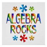 ALGEBRA ROCKS - Starting at $11.80 Poster