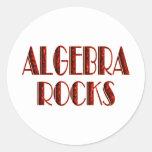 Algebra Rocks Stickers