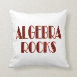 Algebra Rocks Throw Pillow