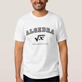 ÁLGEBRA:  Solucionar problemas y a estudiantes Playera