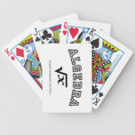 ALGEBRA:  Solving problems and confusing students. Playing Cards
