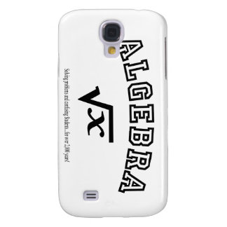 ALGEBRA:  Solving problems and confusing students. Samsung Galaxy S4 Cover