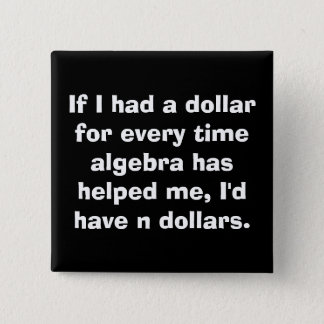 Algebra Square Button