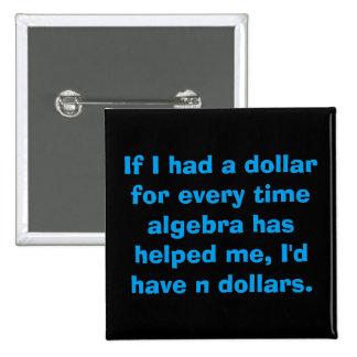 Algebra Square Button