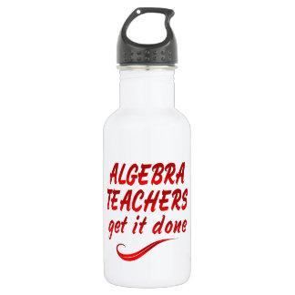 Algebra Teachers Water Bottle