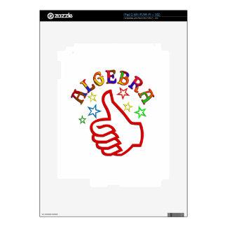 Algebra Thumbs Up iPad 2 Skin