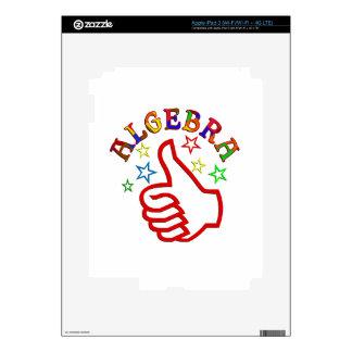 Algebra Thumbs Up iPad 3 Skin