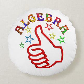 Algebra Thumbs Up Round Pillow