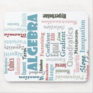 Algebra Vocabulary Mouse Pad