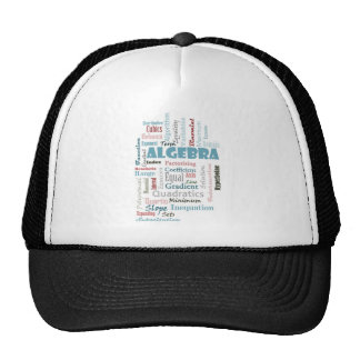 Algebra Vocabulary Trucker Hat