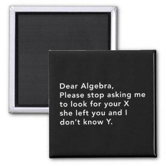 Álgebra y su X Imán Cuadrado